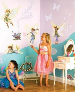 Disney Fairies Room Make-over