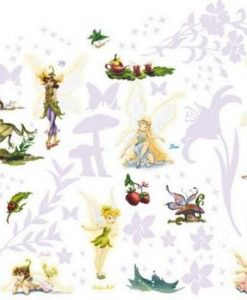 Disney Fairies Room Make-over stickers