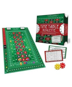 Time Table Roulette bord